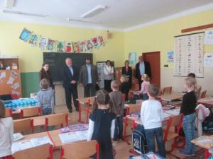 návšteva školy